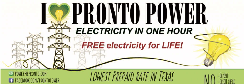 Prepaid Electricity Brazos Country TX Picture